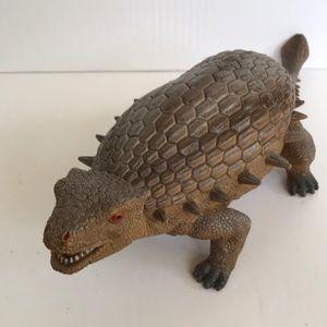 Vintage Dinosaur Toy Ankylosaurus Large